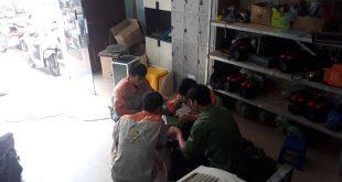 Buổi học thực hành sửa chữa điện công nghiệp tại Dạy nghề số 1
